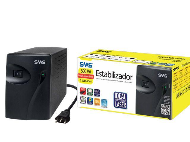 Estabilizador SMS 16215 Progressive III UAP600 BI S/115 NT Laser