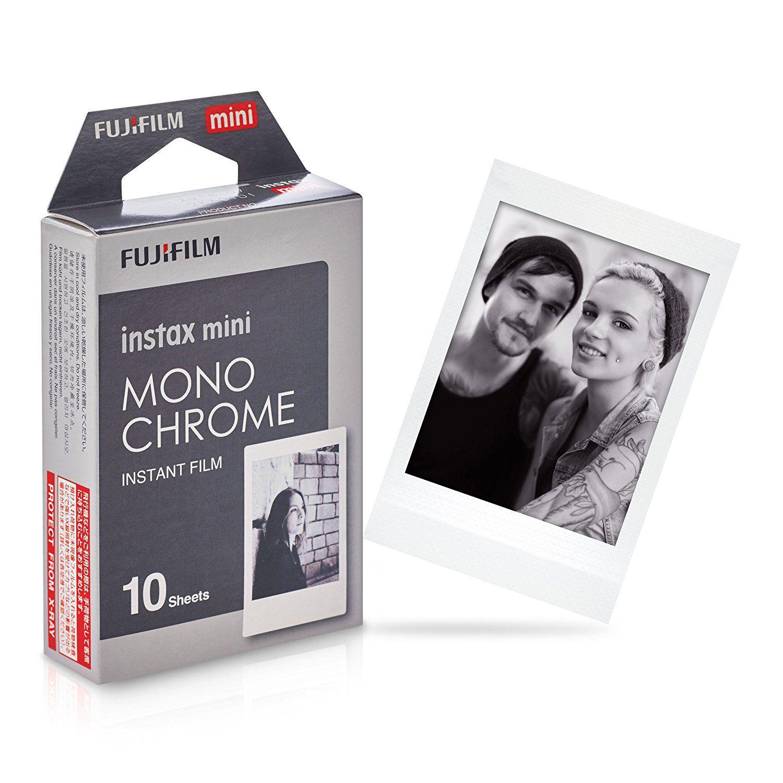 Filme INSTAX Mini Monochrome - 10 Fotos Fujifilm