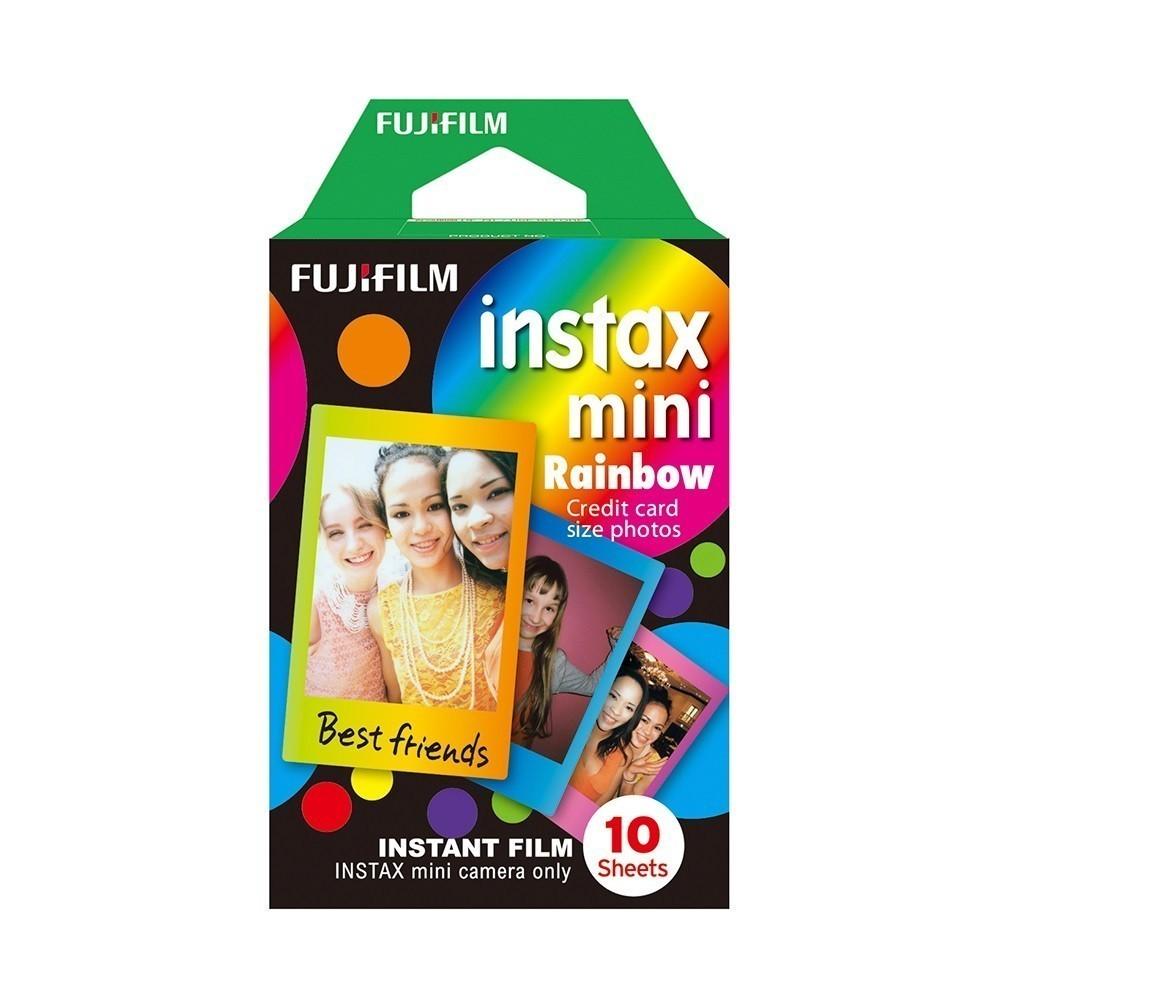 Filme INSTAX Mini Rainbow - 10 Fotos Fujifilm