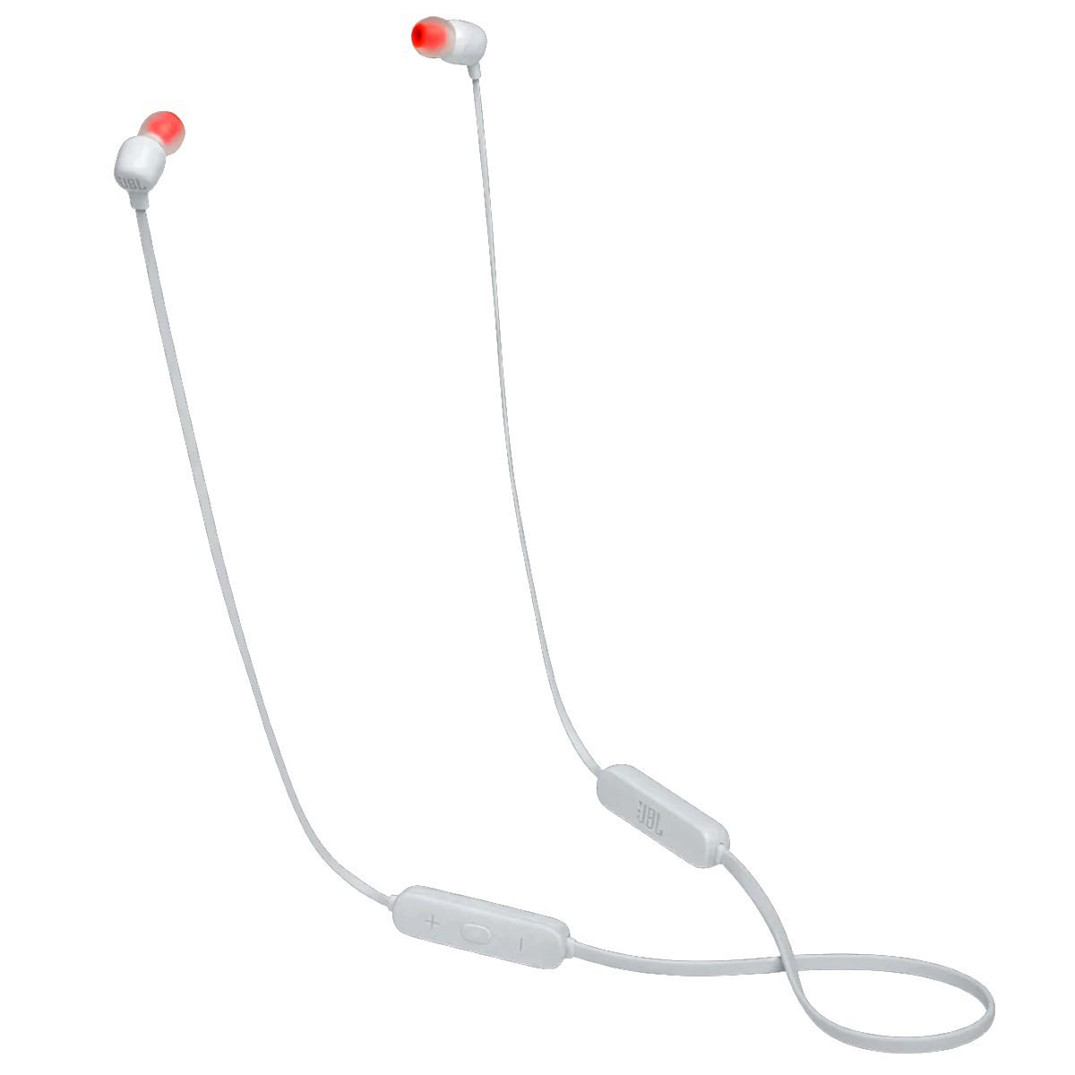 Fone de Ouvido IN EAR JBL T115BT Bluetooth  28913188  Branco