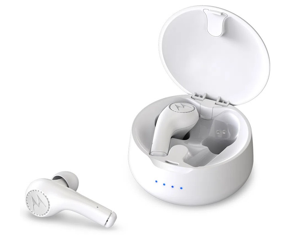 Fone de Ouvido Motorola Vervebuds 500 Bluetooth Branco (VERVE~5012786804005)