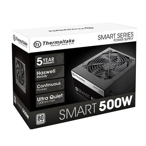 Fonte 500W TT SMART ATX2.3 80+ White PS-SPD-0500NPCWBZ-W