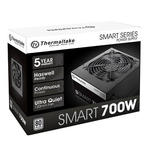 Fonte 700W TT SMART ATX2.3 A-PFC 80+WHITE PS-SPD-0700NPCWBZ-W