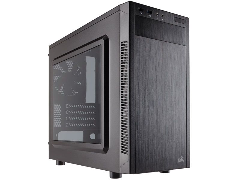 Gabinete Gamer Corsair CC-9011086-WW Carbide Series 88R MATX Preto C/ Acrilico
