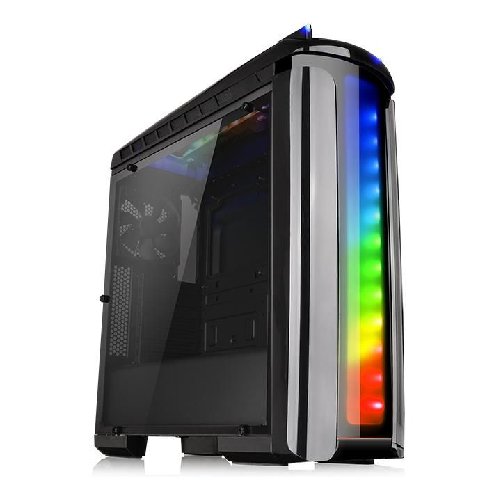 Gabinete TT Versa C22 RGB/TR2 700AH2NFB/WC3 Riing RGB240 CA1G900M1WN03