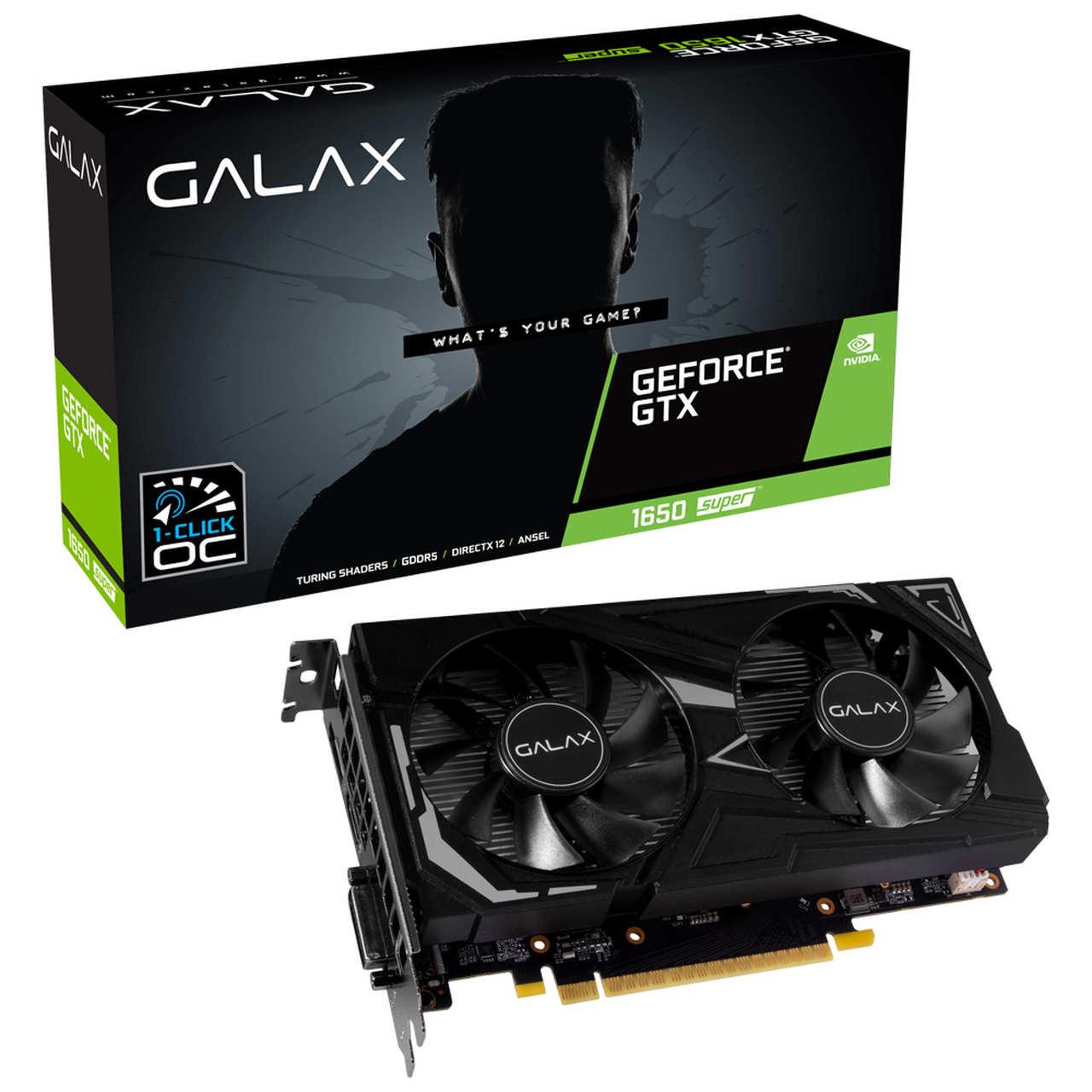 Gpu NV GTX1650 4GB Super EX 1CLICK OC G6 128B Galax 65SQL8DS61EX