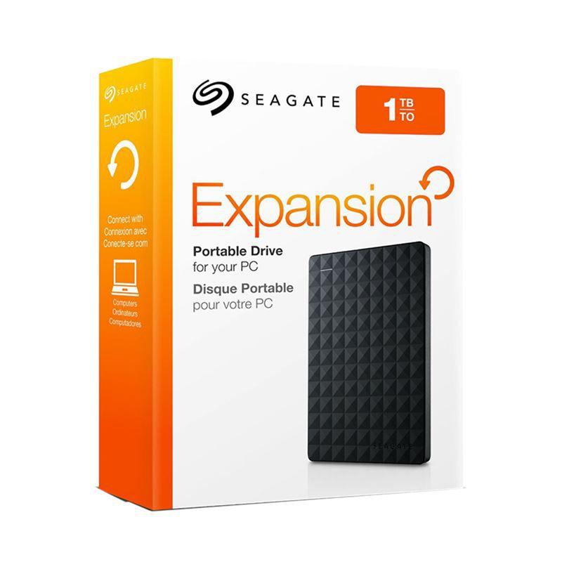 HD Externo Portatil Seagate 1TB Nexpansion USB 3.0 - BLACK 2.5