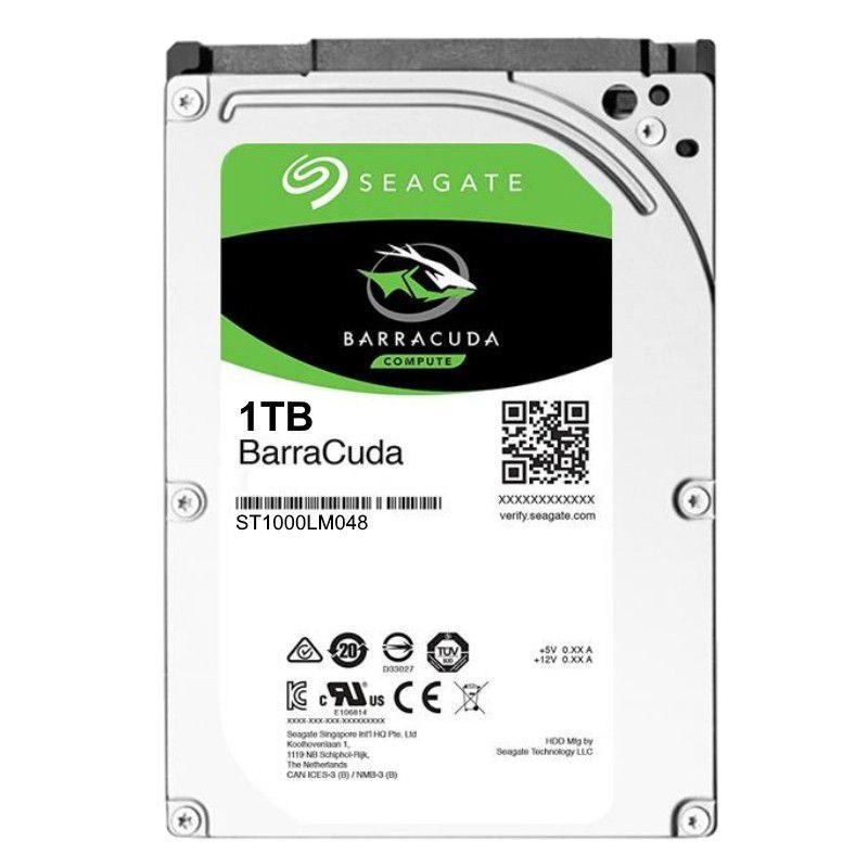 HD Interno Seagate Barracuda Notebook  1TB SATA 128MB 2.5 5400RPM (ST1000LM048)