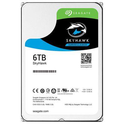 HD Interno Seagate Surveillance SKYHAWK 6TB SATA 256MB 3.5 (ST6000VX0023)