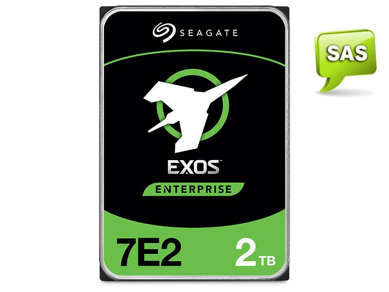 HDD 3,5 Enterprise Servidor 24X7 Seagate 2J2200-001 ST2000NM003A  2 Tera 7200RPM  128MB Cache SAS 12GB/S