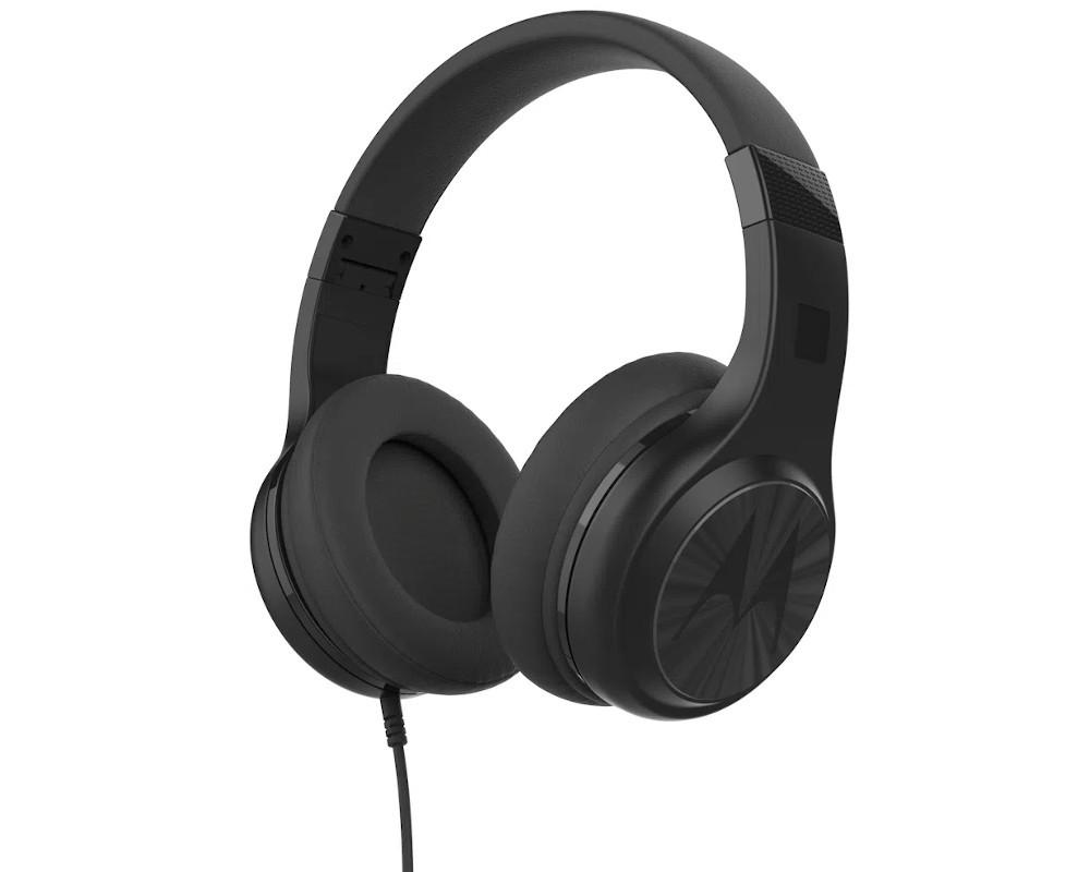 Headphone Motorola Pulse 120 Cabo Destacavel, Microfone Preto SUPRA-AURICULAR (PULSE~5012786040854)