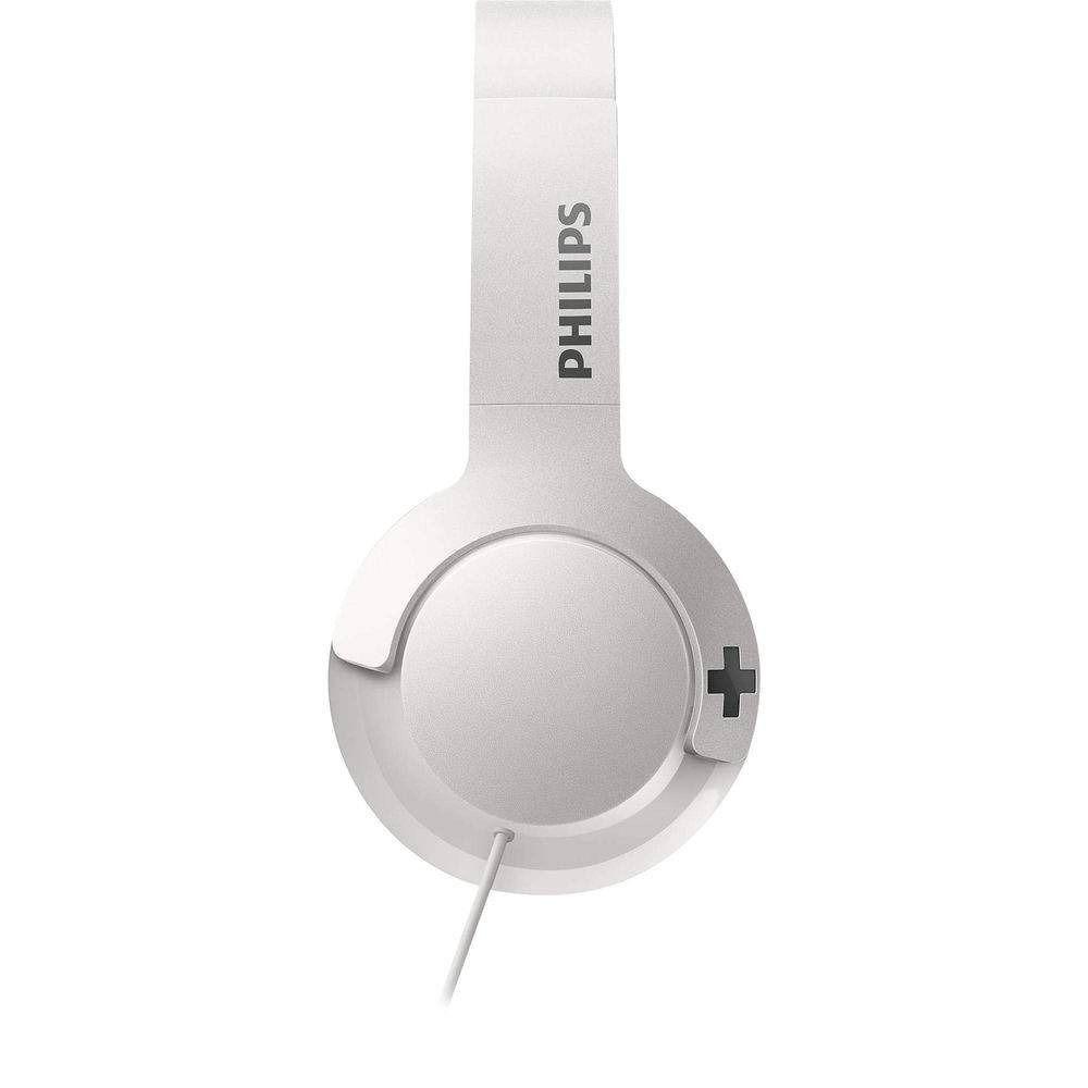 Headphone Philips BASS+ - Cabo de 1,2  M - Branco - SHL3075WT/00