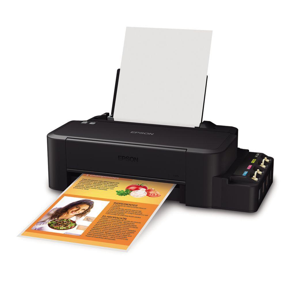 Impressora EPSON Tanque de Tinta (ecotank) L120 - C11CD76201
