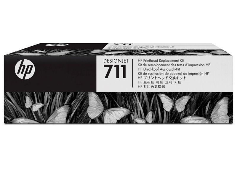 Kit de Substituicao de Cabecote Impressao HP 711 - C1Q10A