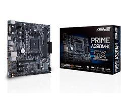 MB P/ AMD AM4 , Chipset A320, RYZEN, 32GB, DDR4 2666MHZ, 2PCI-E X16, 1 PCI-E X1, USB 3.0, Sata, M-ATX