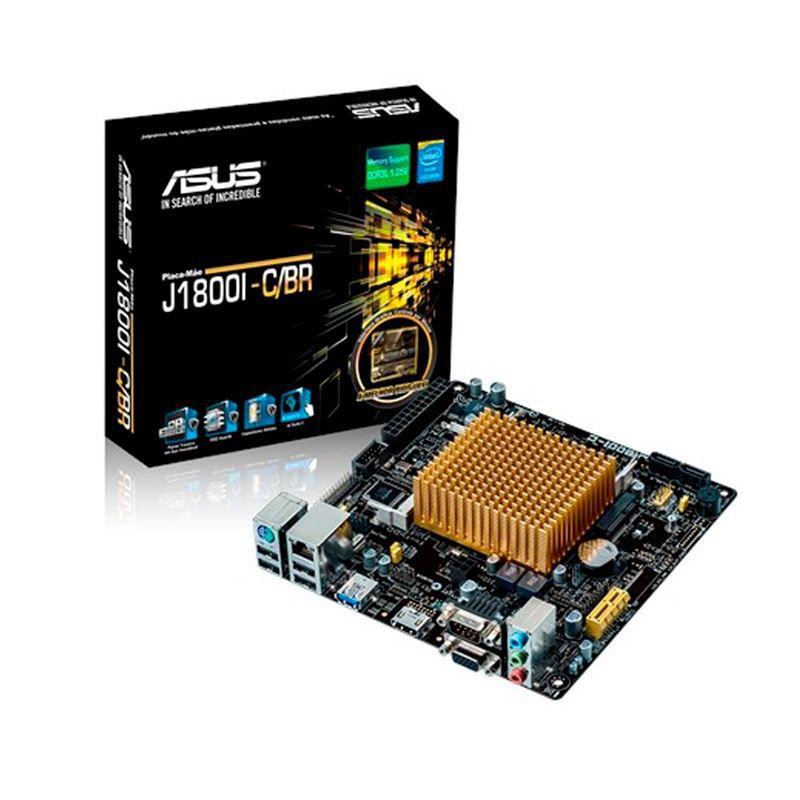 Motherboard ASUS + Processador INTEL Dual Core J1800 com HDMI / USB3.0