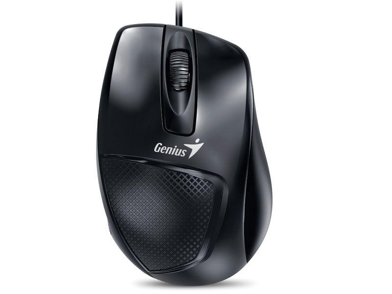 Mouse Genius 31010231100 DX-150X Preto USB 1200DPI Ergonomico