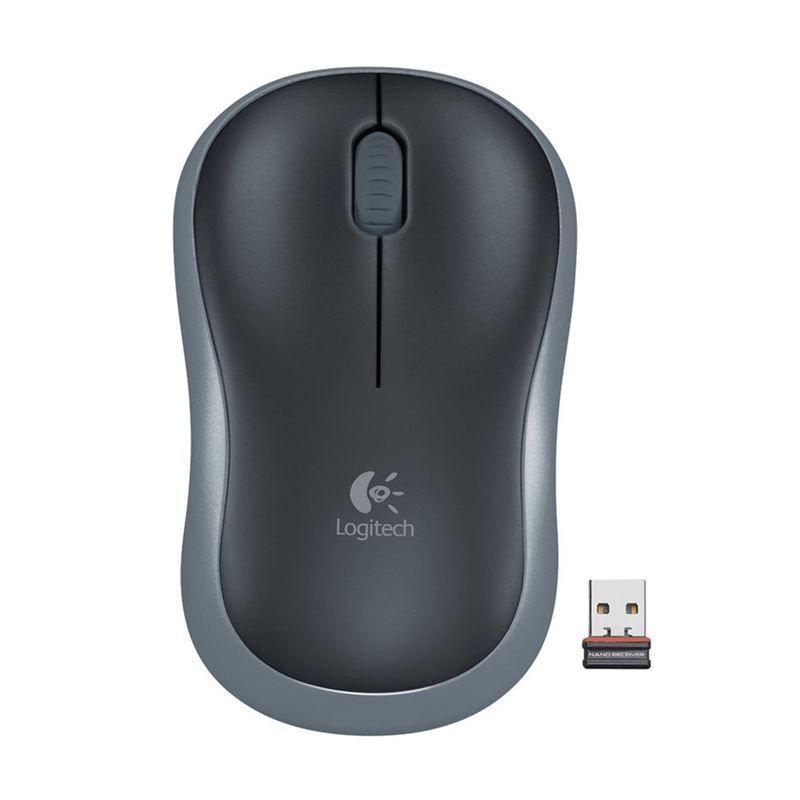 Mouse Optico sem Fio M185 Cinza Logitech