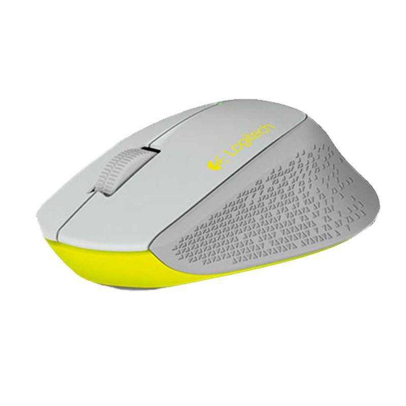 Mouse Optico sem Fio M280 Cinza Logitech
