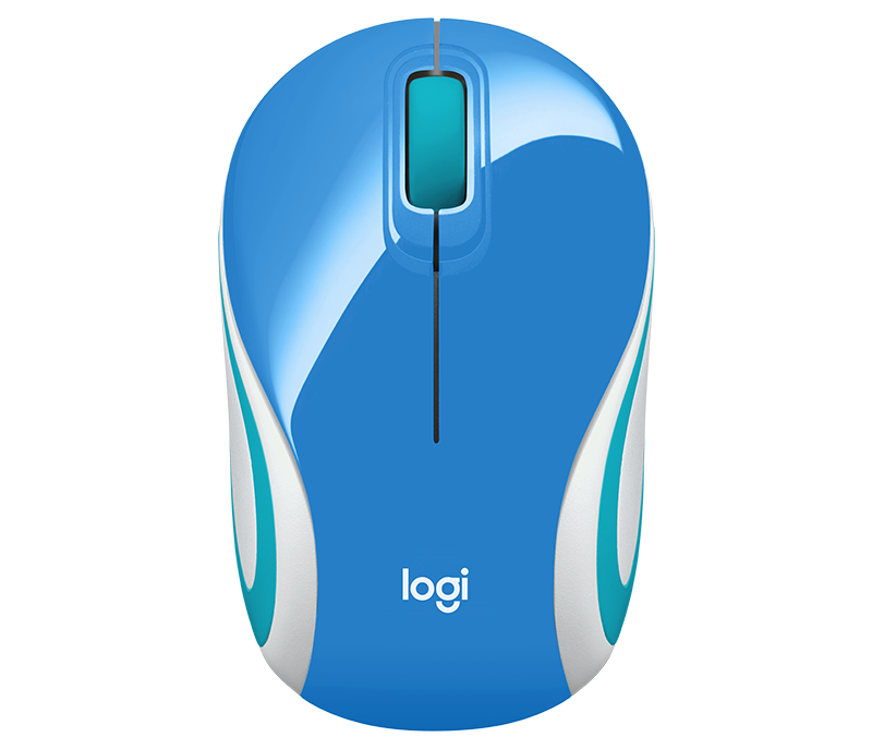Mouse sem Fio M187 AZUL Logitech