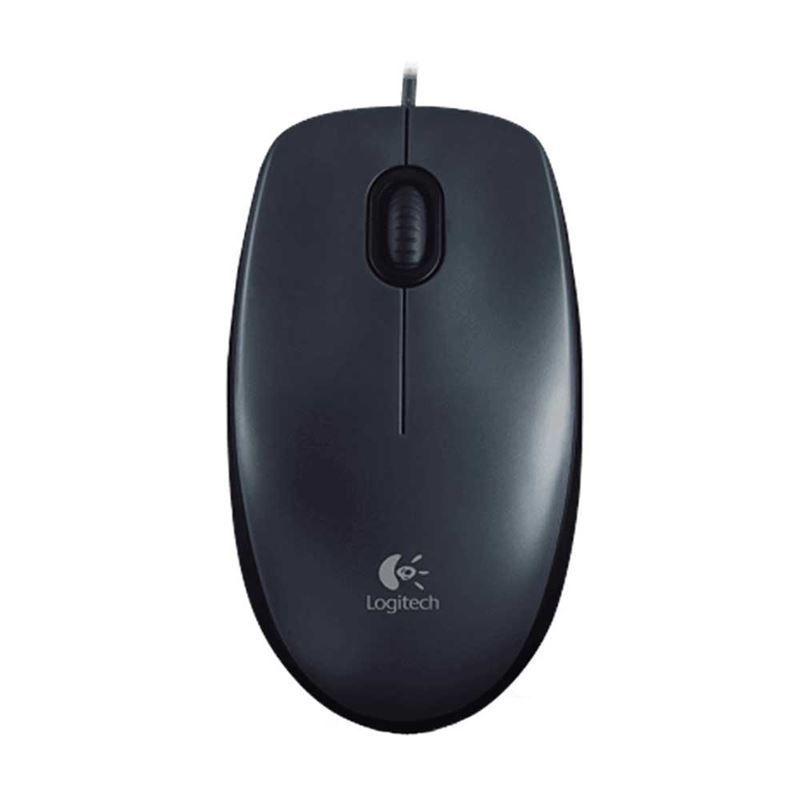 Mouse USB M100 Preto Logitech (097855063953)
