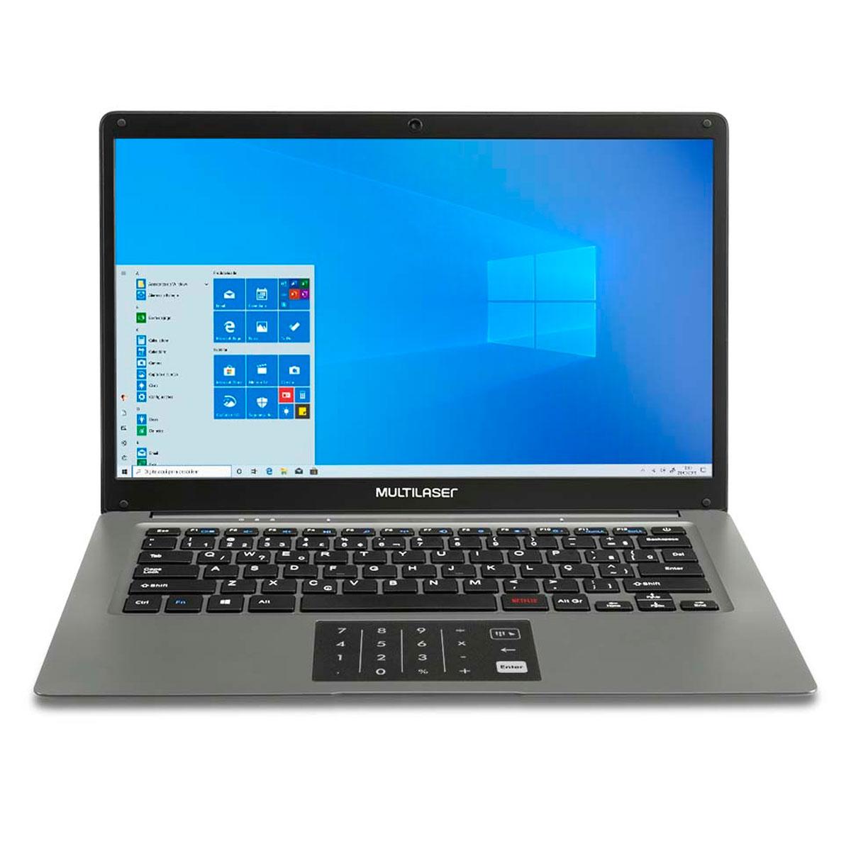 Notebook Legacy Cloud 14 Polegadas  2G 32G WINDOWS10 Cinza PC131