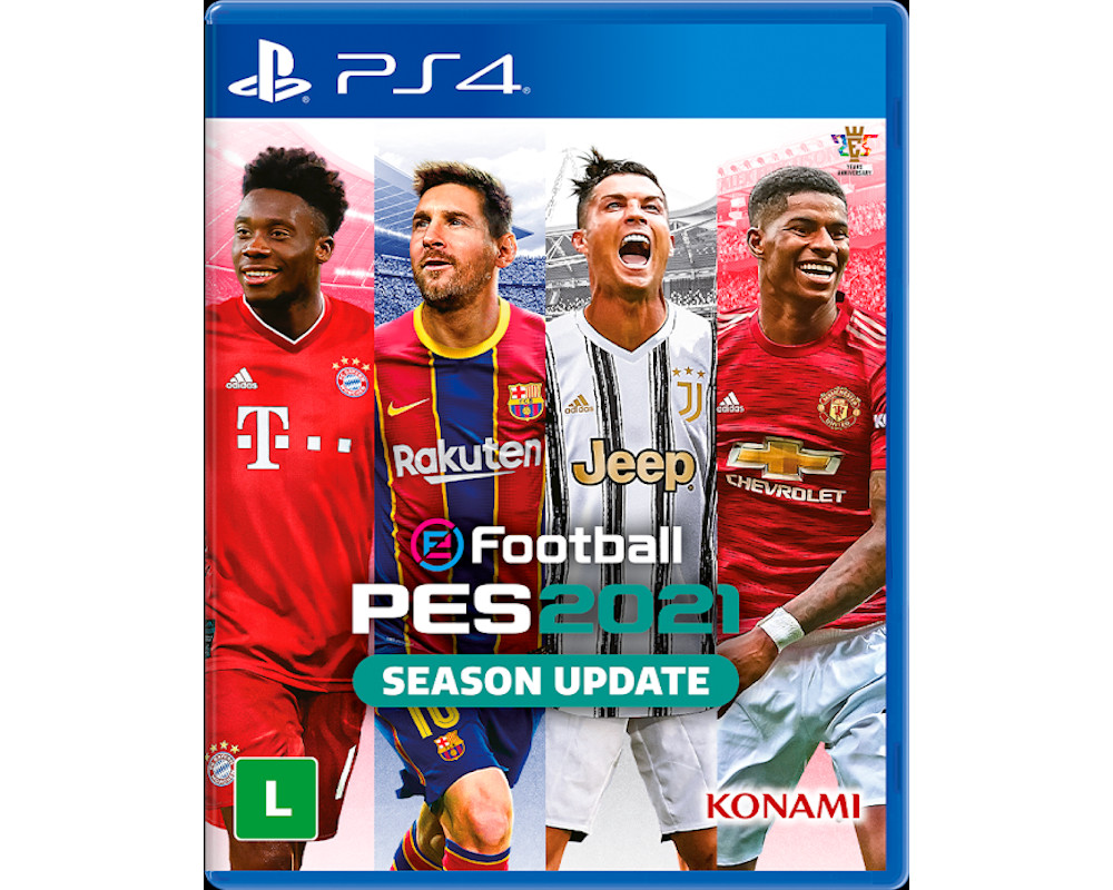 Pes 2021 Efootbal PRO Evolution Soccer 2021 PS4 Mídia Física