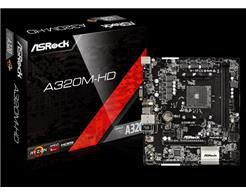Placa Mae ASROCK Micro ATX (AM4) DDR4 - A320M-HD
