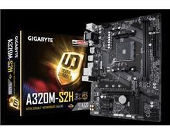 Placa Mae Gigabyte Micro ATX (AM4) - DDR4 - GA-A320M-S2H