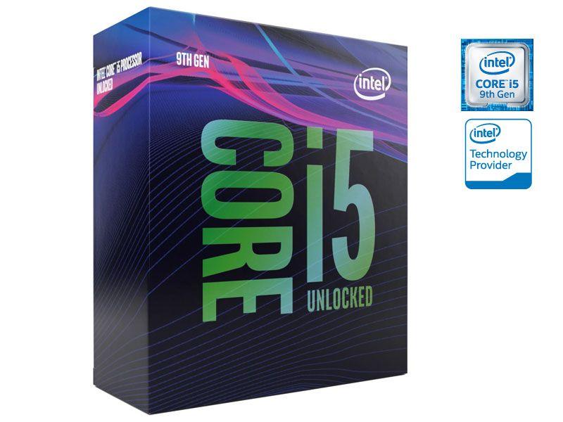 Processador INTEL 9600K Core I5 (1151) 3,70 GHZ BOX - BX80684I59600K 9AGER