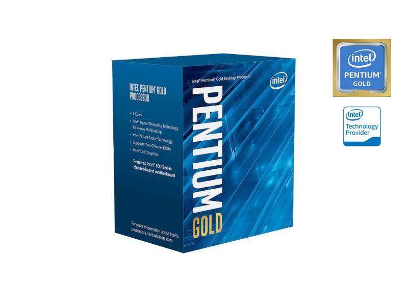 Processador Pentium LGA 1151 INTEL BX80684G5400 GOLD G5400 3.7GHZ 4MB Cache GRAF UHD HT