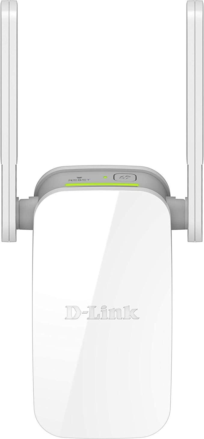 Repetidor D-LINK Wireless AC 1200MBPS Dualband 2X Antenas Externas +porta Rede - DAP-1610