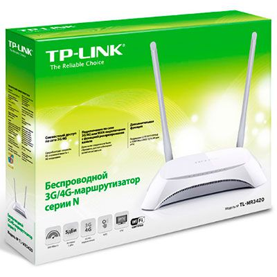 Roteador TP-LINK TL-MR3420 Wireless N 300MBPS 3G/4G - TPL0013