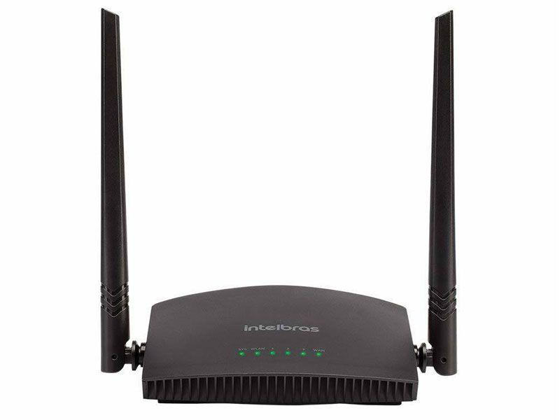Roteador Wireless Intelbras INET 4750073 RF 301K 300MBPS IPV6