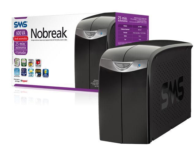 SMS - Nobreak - NET Station II 600 Bivolt 115 + Extensco El�trica Inclusa - 97395
