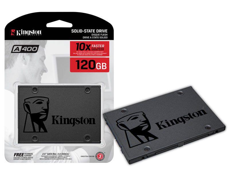 SSD Desktop Notebook Ultrabook Kingston SA400S37/120G A400 120GB 2.5