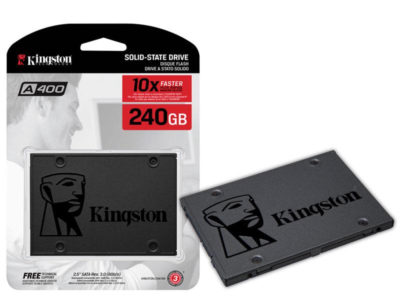 SSD Desktop Notebook Ultrabook Kingston SA400S37/240G A400 240GB 2.5