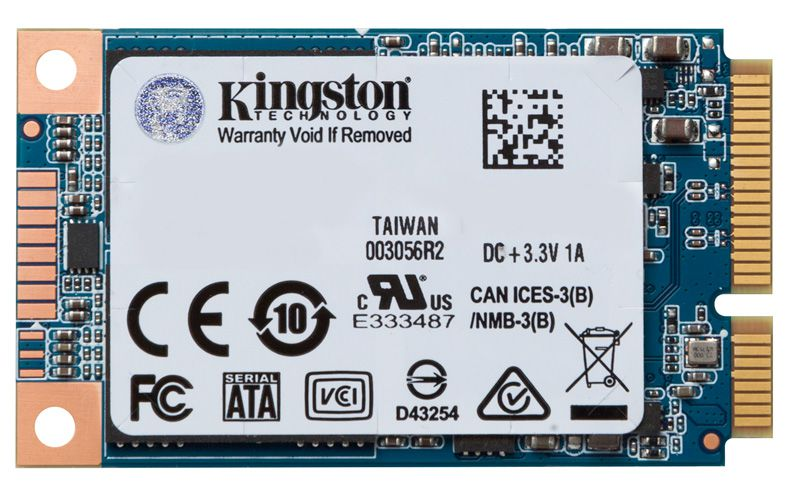 SSD Msata Desktop Notebook Kingston SUV500MS/480G UV500 480GB Msata FLASH NAND 3D SATA III