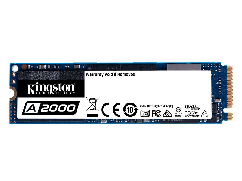 SSD Pcie Desktop Notebook Kingston SA2000M8/250G A2000 250GB M.2 2280 Pcie NVME GER 3.0 X4
