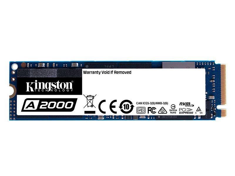 SSD Pcie Desktop Notebook Kingston SA2000M8/500G A2000 500GB M.2 2280 Pcie NVME GER 3.0 X4