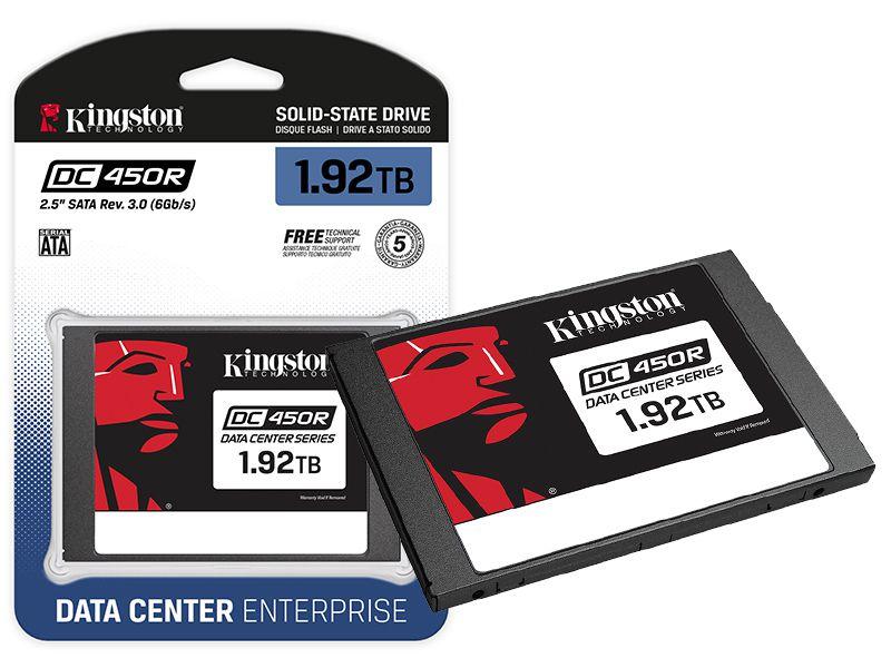 SSD SATA Servidor Kingston SEDC450R/1920G DC450R 1920GB 2.5 SATA III 6GB/S