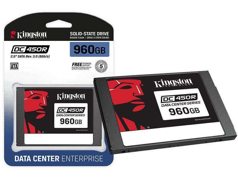 SSD SATA Servidor Kingston SEDC450R/960G DC450R 960GB 2.5 SATA III 6GB/S