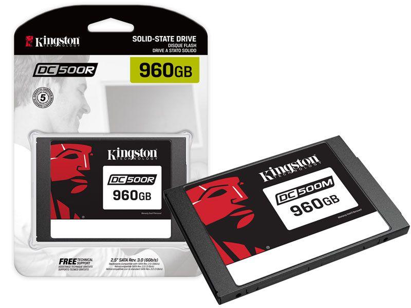 SSD SATA Servidor Kingston SEDC500R/960G DC500R 960GB 2.5 SATA III 6GB/S