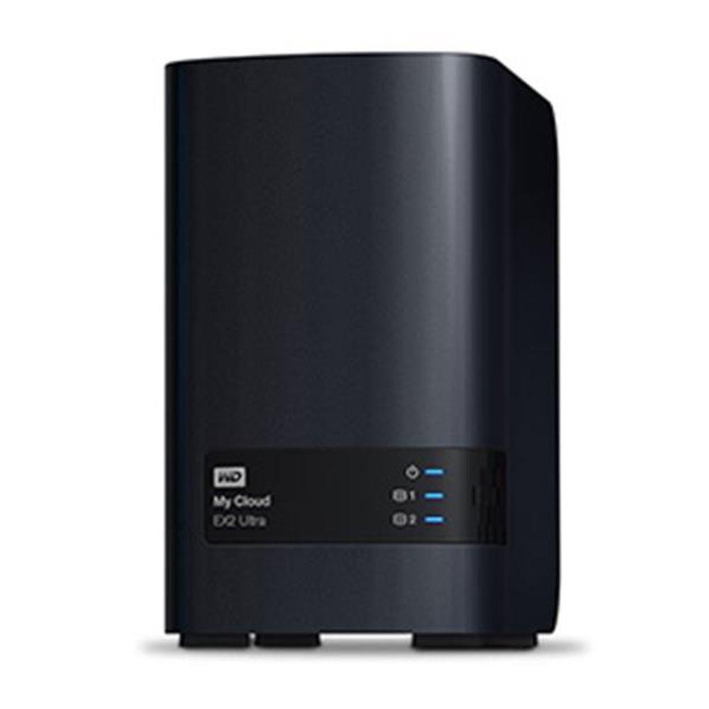 Storage WD NAS MY Cloud EXPERT Series EX2 ULTRA 2-BAY sem Disco - WDBVBZ0000NCH-NESN