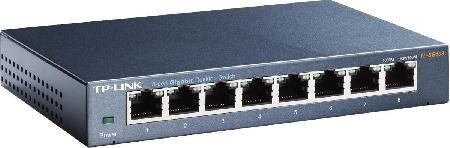 Switch 8 Portas Gigabit de Mesa 10/100/1000 MBPS TL-SG108