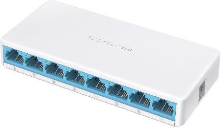 Switch de Mesa 8 Portas 10/100MBPS MS108 Mercusys