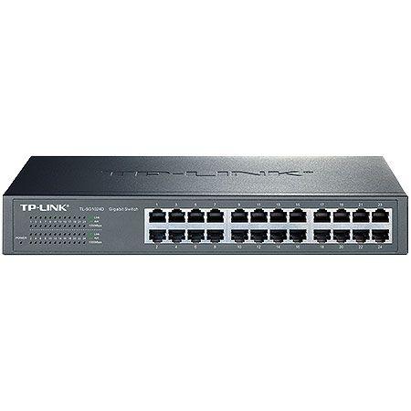 Switch Gigabit de Mesa ou Montável em RACK de 24 Portas TP-LINK TL-SG1024D