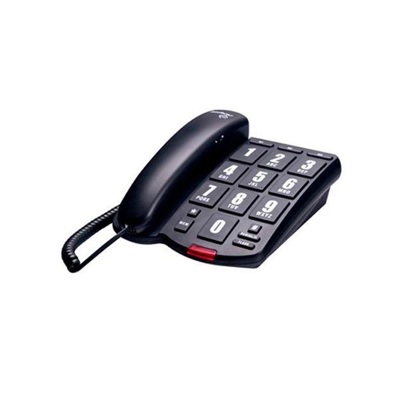 Telefone TOK Facil Preto Intelbras