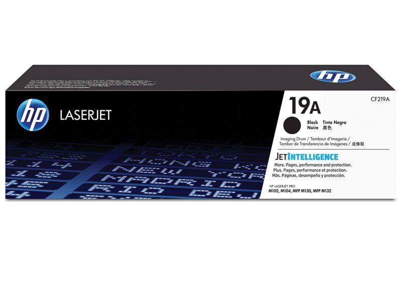Toner Laserjet Mono HP Suprimentos CF219A HP 19A Cilindro de Imagem M104W / M132FW / M132NW