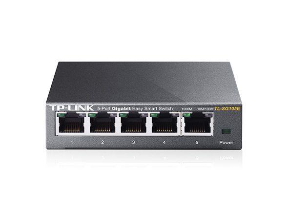 TP-LINK SWITCH Gigabit 10/100/1000 - 5 Portas TL-SG105E